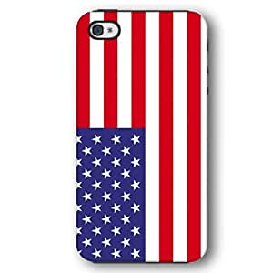 United States Of America USA Flag iPhone 4 and iPhone 4S Armor Phone Case