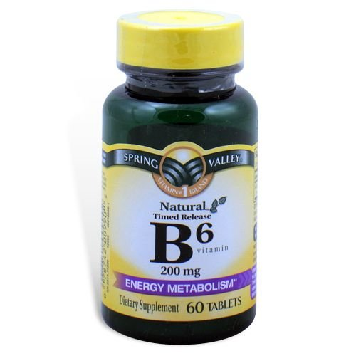 Spring Valley - Vitamine B-6 200