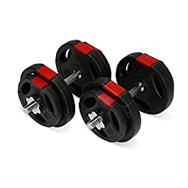 TNP Accessories Dumbbell Weights Set 20KG/30KG/40KG/50KG Dum...