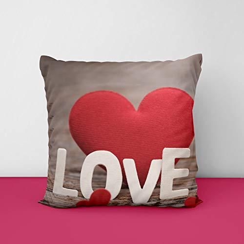 41Iz6LVC15L Love Heat Square Design Printed Cushion Cover