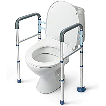 Amazon Com Greenchief Stand Alone Toilet Safety Rail With