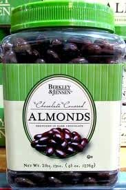 Berkley & Jensen Dark Chocolate Covered Almonds 45 OZ.