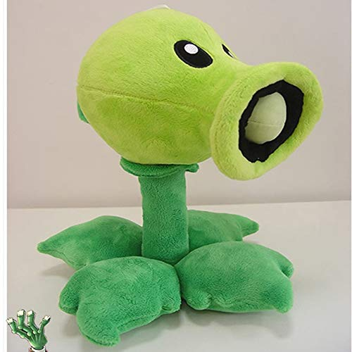 RAFGL Plants Vs Zombies PVZ Plush Toys 30Cm Cute Pea Shooter Sun Wer Squash Plush Soft Stuffed Toys Doll for Kids Children Xmas Gift Must Have Gifts The Favourite Superhero Stickers by RAFGL