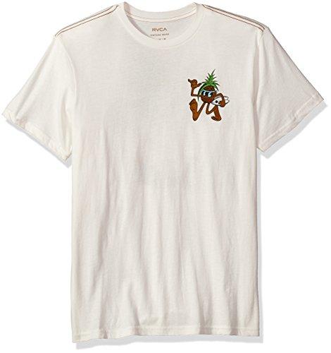 RVCA Mens Rvcaloha Pineapple Vintage Wash T-Shirt