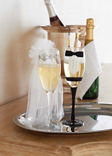 Mud Pie Bride Stemmed Champagne