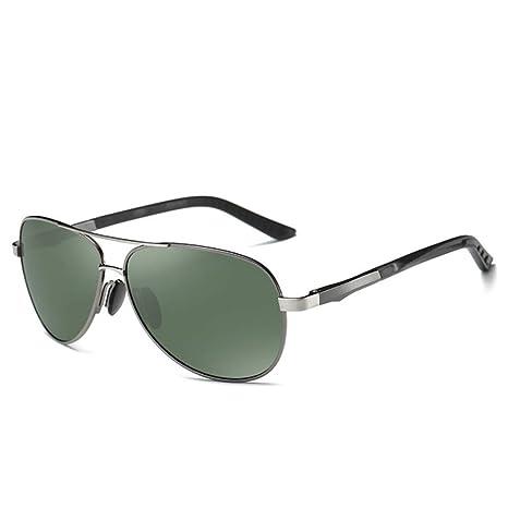 Yangjing-hl Hombres de Aluminio Gafas de Sol polarizadas ...