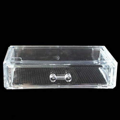 XWYSSH主催 ジュエリー化粧品の化粧品収納ボックスプラスチックホームオフィス収納引き出しスタッカブルストレージボックスデスクトップオーガナイザー透明アクリルメイクアップオーガナイザー XWYSSH