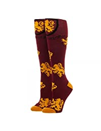 Harry Potter Houses Juniors/Womens Knee High Socks - Gryffindor