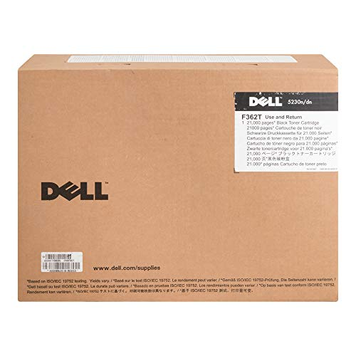 - Dell F362T Toner Cartridge for 5230n/ 5230dn/ 5350dn Laser Printers, Black