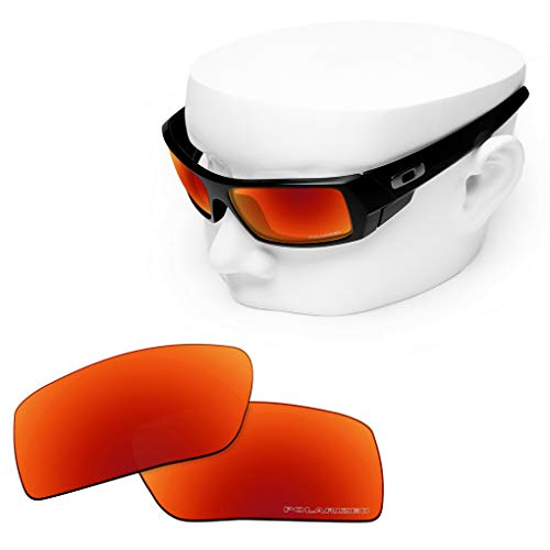 OOWLIT Replacement Lenses Compatible with Oakley Gascan Sunglass Fire Polycarbonate Combine8 Polarized