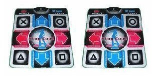 Two Dance Dance Revolution Dance Pads for PS2 by Dance Dance Revolution Dance Pad Mat