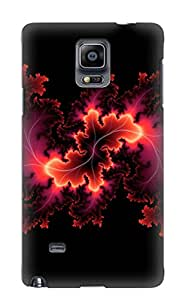 Ideal Exultantor Case Cover For Galaxy Note 4(abstract Fractal), Protective Stylish Case