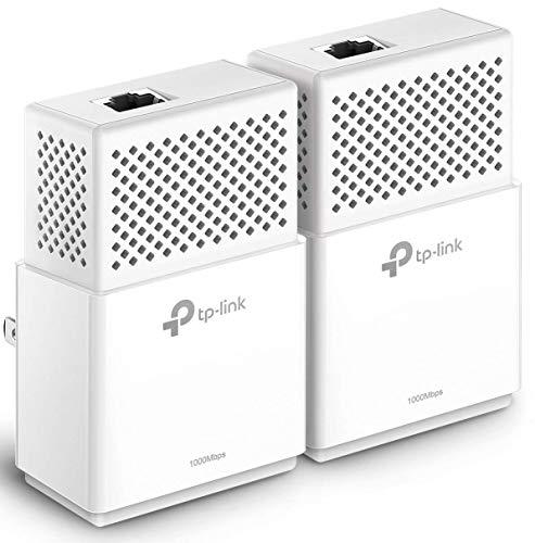 TP-Link AV1000 Powerline Ethernet Adapter - Gigabit Port, Plug&Play, Power Saving(TL-PA7010 KIT) by TP-LINK (Image #1)