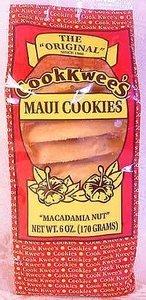 Hawaii Maui Cook Kwees Macadamia Nut Cookies -