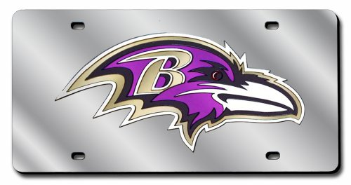 Baltimore Ravens License Plate - 1