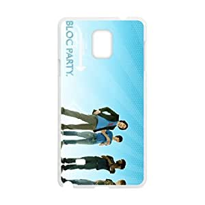 Samsung Galaxy Note 4 Cell Phone Case Covers White Bloc Party Phone cover F7639195