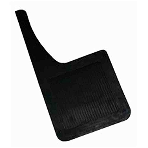 Highland 1241200 Black Heavy Duty Rubber Splash Guard - 2 Piece