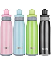 SHO Sports Bottle - Ultimate Vacuum Insulated Stainless Steel Sports Bottle & Water Bottle - 12 Hours Cold & 6 Hours Hot