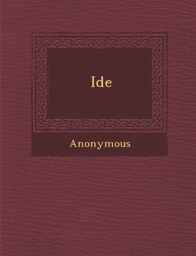 Id E (French Edition)