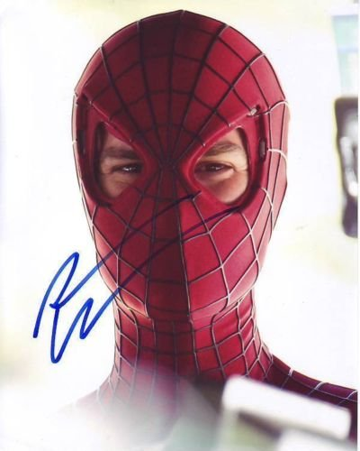 ANDREW GARFIELD signed autographed PETER PARKER THE AMAZING SPIDERMAN photo (3)