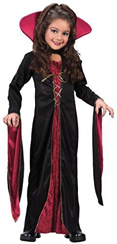 Victorian Vampiress Child Costume - Medium -