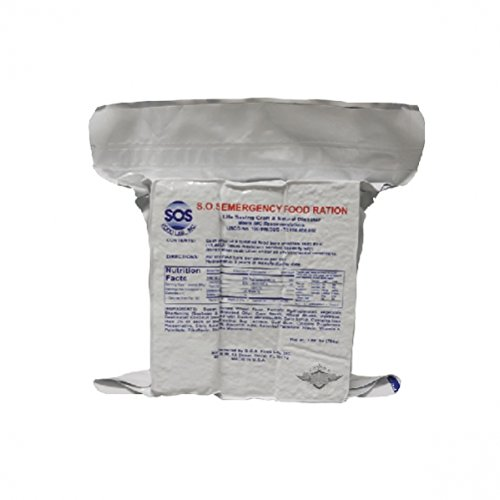 5ive Star Gear SOS Emergency Food Ration Bars by 5ive Star Gear