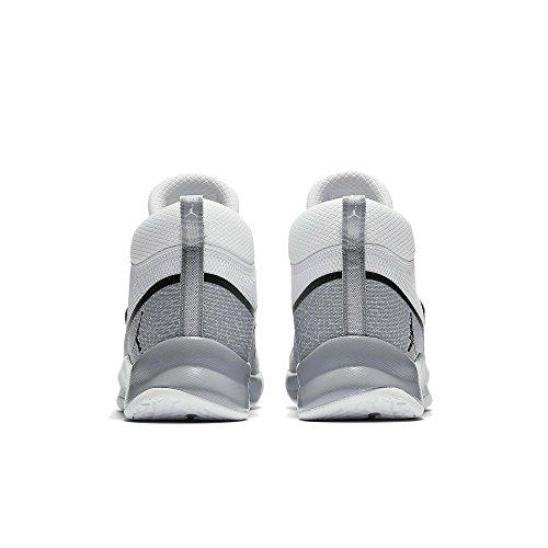 Fly PO 5 5 103 Super Jordan Weiß NIKE 47 881571 Basketballschuhe wxqSO6I
