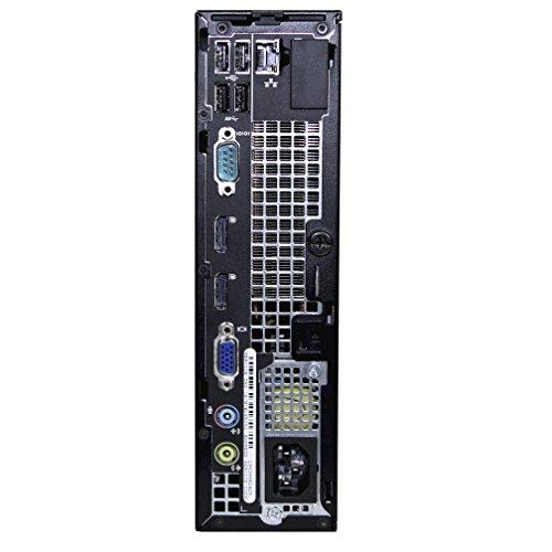 Refurbished Dell Desktop Optiplex 7010 USFF - Intel Core i3-3220 3.3GHz, 8GB DDR3 RAM, 120GB SSD, Windows 10 Pro by RefurbTek (Image #2)