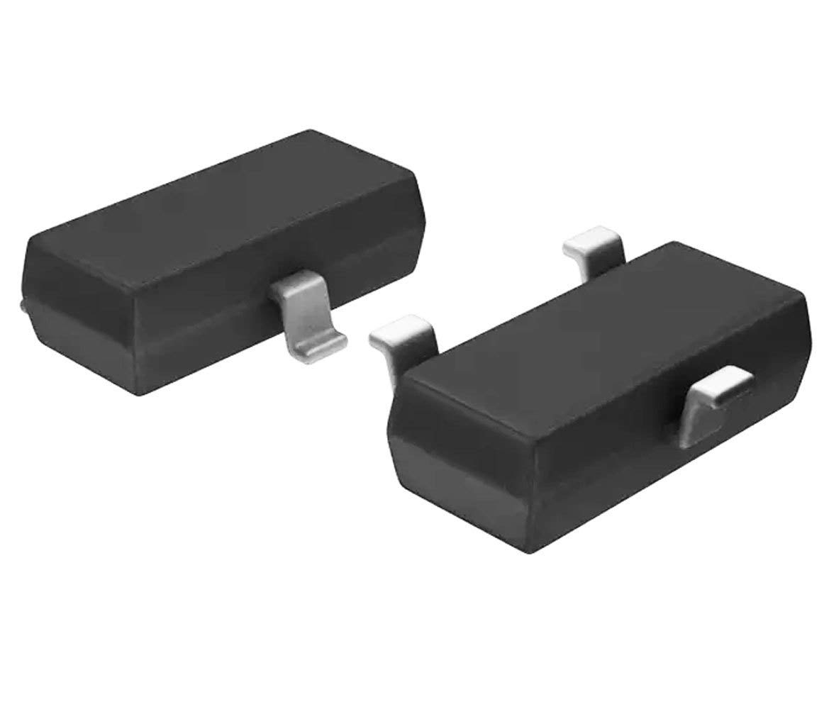 Pack of 10 BSS138 ON Semi/Fairchild Trans MOSFET N-CH 50V 0.22A 3-Pin SOT-23 AVLIS-CO