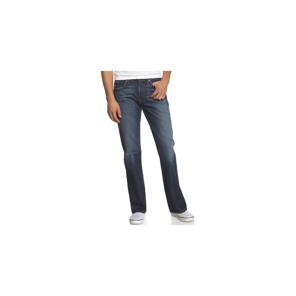 Lucky Brand Mens New Relaxed Bootleg Jean, Ol Sky Lark, 29x32