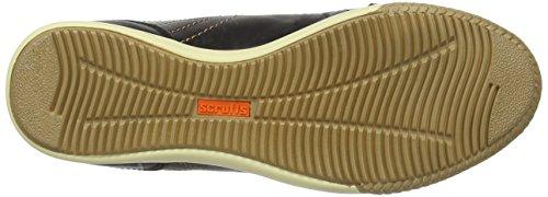 Scruffs Eden Boot - Zapatos de seguridad de cuero para mujer Negro