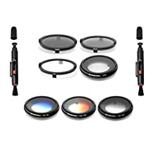 FREEWELL YUNEEC FILTER 7 PACK FOR YUNEEC TYPHOON CGO3 AND GO3+ CAMERA