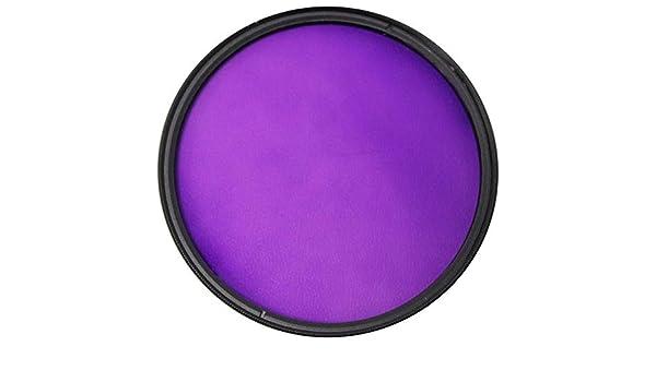 Cablematic - Filtro fotografia violeta para objetivo de 72 mm: Amazon.es: Electrónica
