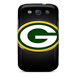 Durable Defender Case For Galaxy S3 Tpu Cover(green Bay Packers)
