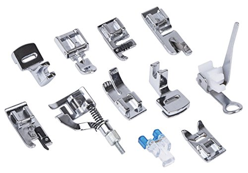 Sunbeam® Sewing Machine Presser Feet Set ,For Brother, Singer, Babylock, Janom (Blind Hemmer Babylock compare prices)