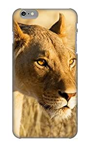 Dionnecortez Perfect Animal Lion Case Cover Skin With Appearance For Iphone 6 Plus Phone Case