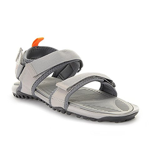 Reebok Damen Trail Serpent IV Flip-Flops, Talla Unica Grau / Orange / Schwarz (Tin Grau / Alloy / Elektro Peach / Kohle)