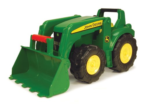 "picture of Ertl John Deere 21"" Big Scoop Tractor"