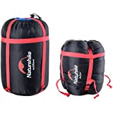 Naturehike 軽量コンプレッションバッグ 寝袋 圧縮袋 圧縮バッグ アウトドア キャンプ用 旅行 小物収納袋 2本入り