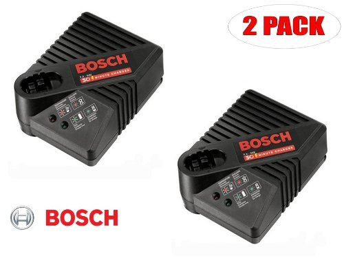 Bosch 9.6V - 24V BC130 30 Minute Fast Charger # 2607225033 (2 PACK) by Bosch