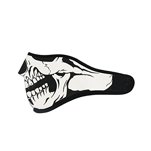 ThreeH Skull Face Mask Winter Breathable Windproof for Riding Snowboard Hiking FM09I -