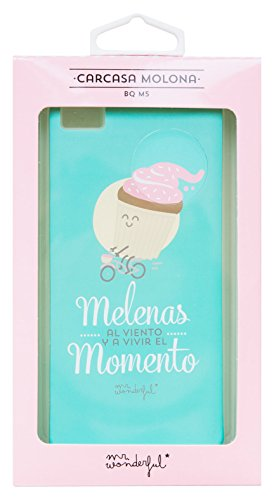 Mr.Wonderful WOA03233 - Carcasa para BQ M5