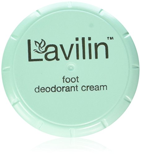 Cream Foot Care (Lavilin Foot Care Award Winning Foot Deodorant Cream, 12.5 Grams)