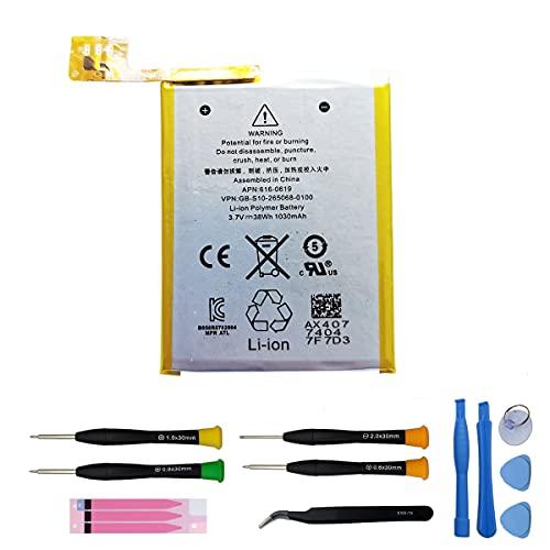 bateria de repuesto para ipod 5ta generacion 616-0619 a1421