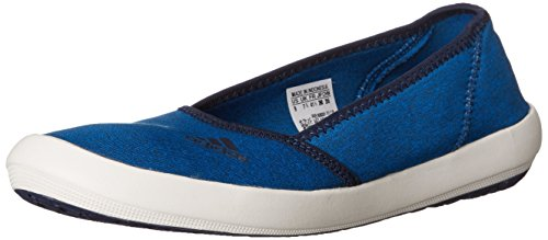adidas Outdoor Damen Slip-On Slim Water Shoe Schock Blau / Coral Navy / Kreide Weiß