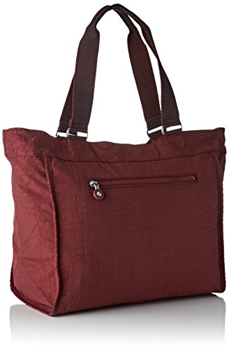 Burnt C L Marron Shopper New Cabas Kipling Carmine qXwxROvgT