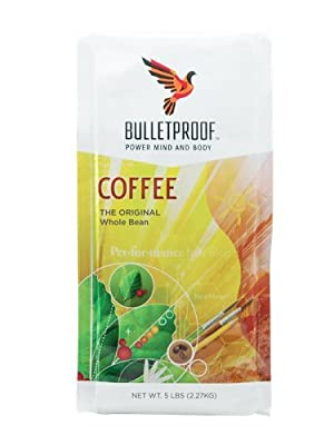 Bulletproof The Original Whole Bean Coffee, Upgraded Coffee Upgrades Your Day (5 lbs) from Bulletproof