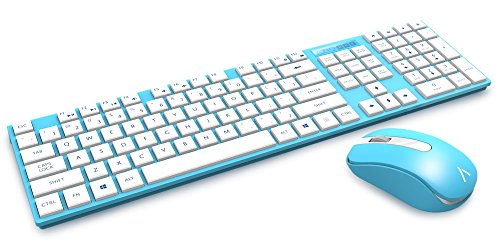 Azio-HUE-2-Blue-Wireless-Keyboard-Mouse-Combo-KM508-BU
