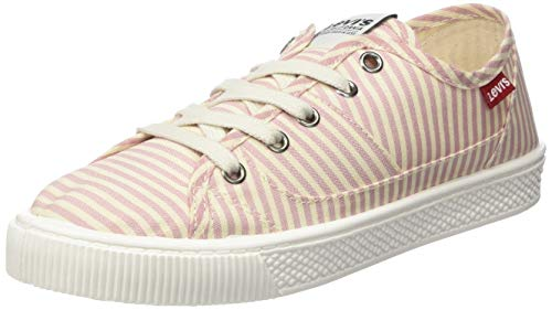 Levi's Footwear and Accessories Women's Malibu S Trainers, (Light Pink 81), 7.5 -