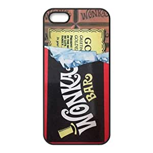 Wonka Bar sweet pattern Cell Phone Case for iPhone 5S